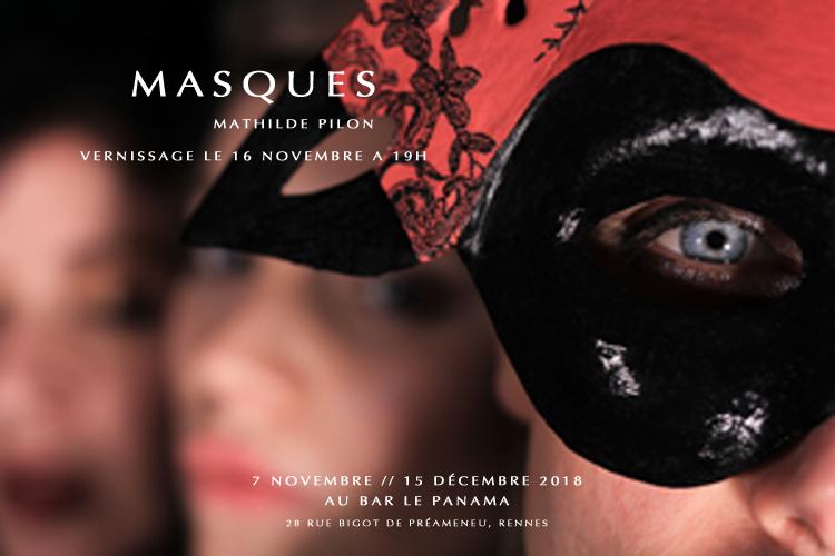 Affiche Masques 2 BR
